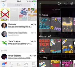 Facebook tests Snapchat Stories clone for Messenger