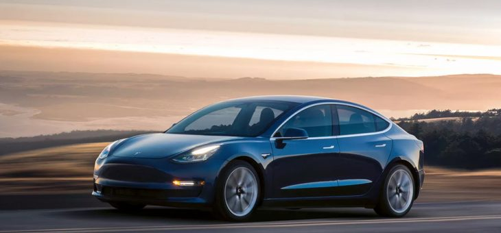 The first Tesla Model 3s are now on the road