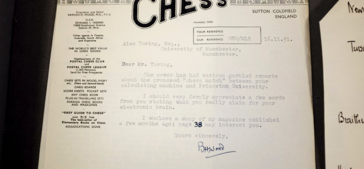 Turing letters found