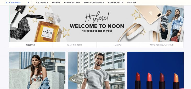 Noon.com is online and ready for shoppers
