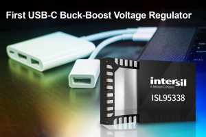 Intersil launches buck-boost voltage regulator for mobile devices