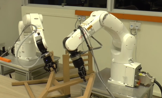 NTU robots master Ikea furniture