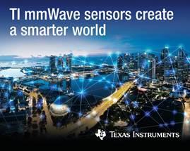 TI mass-producing UWB 76-81GHz mmWave radar sensors