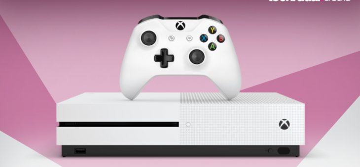 Microsoft's currently flogging an Xbox One S with 5 games for just AU$299