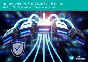 Maxim USB fault protector
