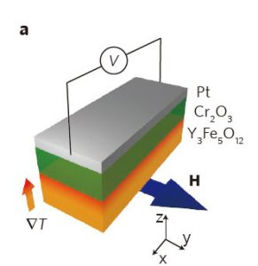 Spin current switch demonstrated