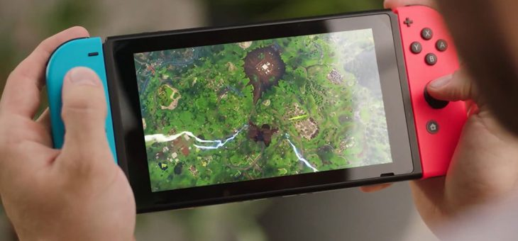 Fortnite on Switch is getting built-in voice chat this week