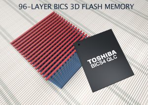 Toshiba prototypes 96-layer 1.3Tbit NAND