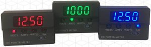 Panel V/A/W meter has touch sensing