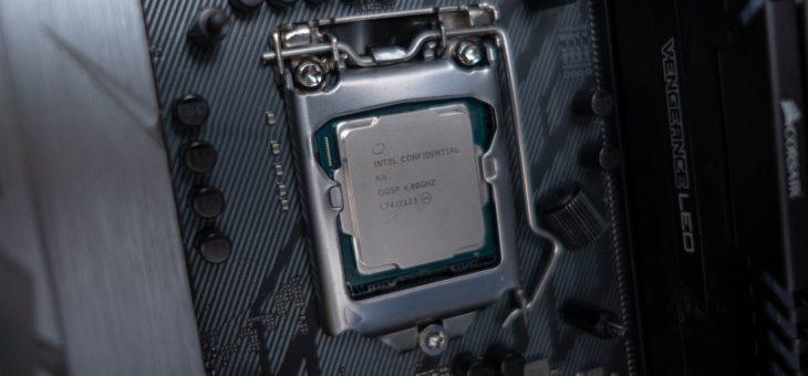 Intel Coffee Lake Refresh leak reveals new S-series performance processors