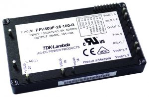 TDK uses GaN PFC to shrink 500W ac-dc power brick